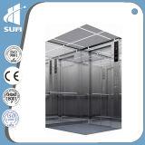 Costruzione commerciale della baracca dell'acciaio inossidabile di vetro ed Using l'elevatore