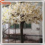 가정 장식 섬유유리 백색 인공적인 벚꽃 나무