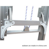 En131 Ladder van de Stap van het Aluminium van de Uitbreiding van de Fabrikant van China de Enige