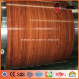 Matériau de la bobine de la porte extérieure du panneau de revêtement (Série de bois)