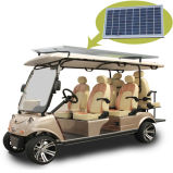 El panel solar del carro de golf Utility Vehicle 4 + 2 asientos se utiliza un carro en la playa