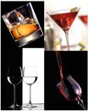 Vaisselle en verre de cuvette de whiskey
