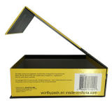 Caja de embalaje de la cartulina del papel del producto brillante de Digitaces