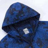 Couche occasionnelle protégeant du vent de jupe de mode de l'hiver imperméable à l'eau extérieur léger d'hommes