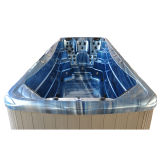 5.8 metro piscina spa com jatos de luzes de LED de bombas de Massagem