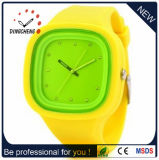 New Design Fashion Jelly Geneva Montre Silicone Crystal Lady Watch