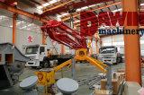 Safeworkの証明書が付いているアームを置く17mのトレーラーの移動式具体的な置くブーム