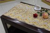 Elegante Ancho Oro PVC Mantel 50 cm del cordón largo en rollo (JFBD-020)
