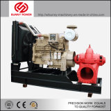 24inch 유출 2880m3/H를 가진 아프리카에 있는 관개를 위한 디젤 엔진 수도 펌프