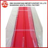 Strato rivestito del tetto di colore certo in Cina