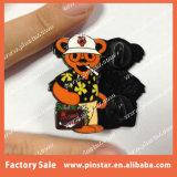 Fabricante de China que hace oso que fuma muerto agradecido de calidad superior de Gonzo el Pin embriagador de la solapa