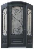 Portas da rua exteriores do ferro do costume de aço da segurança