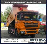 Shacman 6X4 340HP 5.8m Gruben-Gebrauch-Lastkraftwagen mit Kippvorrichtung