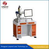 De Laser die van de Vezel van de Desktop Machine voor Sanitaire Producten merken die Optisch Systeem brandmerken