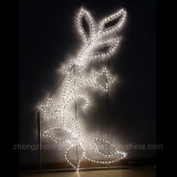 Seil-Motiv-Licht des Weihnachtsbaum-3D LED für Bogen-Dekoration des Weihnachtslicht-LED