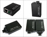 Selbst-Anpassung 10/100Mbps Faser-optischer Media-Konverter