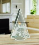 Комплект из 3 Елочные стекла при свечах держатель