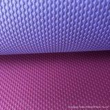 Sin olor, es antideslizante, resistente y ligero, diseño de color dual estera del yoga