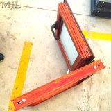Rupture thermique à double vitrage à battants en aluminium composite bois Fenêtre unique
