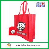 Verkoop Plastic het Winkelen Zakken, de Niet-geweven Zak van pp, de Zakken van de Gift met Handvat, PromotieZakken