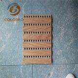 Jusqu'à la date de l'acoustique de bois panneau en bois de style