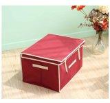 Складные Cube ткань для ящика для хранения одежды детской игрушкой данные органайзера с крышкой