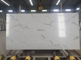 Foshan Engineered laje de pedra mármore branco Calacatta Quartz S bancadas de trabalho