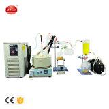 Caminho curto destilação de vácuo de laboratório Cdb equipamentos de extração de óleo de cânhamo