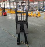 1200kg頭文字の上昇電気二重パレット上昇のスタッカー