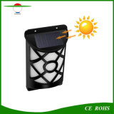 66LED Outdoor Flickering Flame IP65 Fence Lamp Solar Powered Wall Light