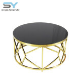 Muebles de Salón mesa de café de vidrio moderna fábrica mesa de café