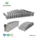 LED de Extrusión de Aluminio de aletas de aluminio anodizado Perfil con ISO9001