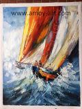 Pitture a olio decorative moderne della vela per la decorazione domestica