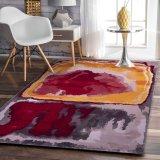 Novo design do tapete de seda, Banboo Fibra, Tencel) Carpet, sala de estar, sofá cama, Villa carpetes e tapetes de nylon para tapetes Tapete de escritório de parede a parede, Alcatifa
