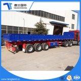 3 ejes semi remolque para el transporte de mercancías a granel y grandes