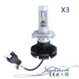 自動隠されたキセノンのヘッドライトが付いているX3 H4 LED車ライト
