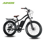 Bajo precio de 48V 26pulgadas neumático Fat Beach Cruiser barato bicicleta eléctrica con motor de 500 W