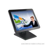 TFT LCD moniteur 15 pouces avec panneau tactile capacitif, VGA/port HDMI