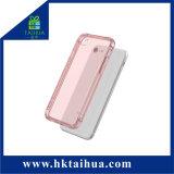 Gli accessori del telefono mobile di iPhone di Huawei assottigliano la cassa trasparente molle del coperchio del telefono di TPU