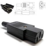 IEC C13 женского линейный разъем кабеля питания адаптера питания разъем 250V 10A