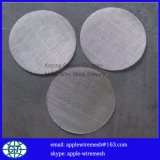Malla de filtrado de disco de 5cm a 30cm de diámetro