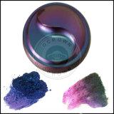 Pigmento em mudança do pó da pintura da cor do cromo do Chameleon