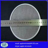 Filtrado de disco de malla en 5 cm a 30 cm de diámetro