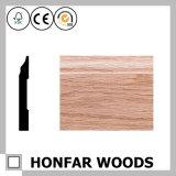 1/2 in. X 3 in. Acessórios para pavimentos Base de madeira maciça / rodapé