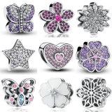 13 monili originali adatti della collana DIY del braccialetto 925 dell'argento sterlina di stili di fascino autentico di amore