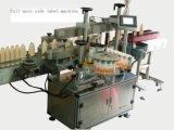 가득 차있는 반 자동적인 둥근 병 레테르를 붙이는 기계 충전물 기계