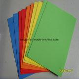단화 발바닥을 만들기를 위한 연약한 EVA 물자 색깔 EVA 거품 장 4mm