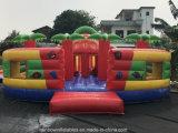 Гигантские надувные джунглей Funcity Bouncer игровая площадка для детей
