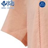 La moda Short-Sleeve Stand suelta el botón de Collar de señoras Ocio blusa