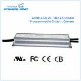 alimentazione elettrica costante programmabile esterna della corrente LED di 120W 2.5A 29~58.8V